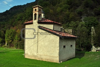church in the mountain