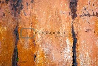 Painted metal steel