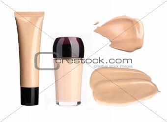 Foundation cream samples