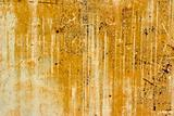 texture of rusty painted metal