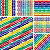 Seamless vivid wave patterns