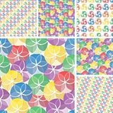 Seamless vivid swirl patterns