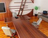 Interior of fine office