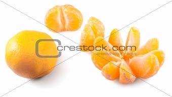 Three mandarins