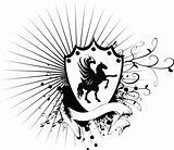 heraldic horse coat of arms