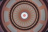 Colorful Ohio Statehouse Rotunda Dome