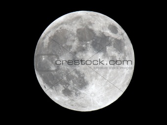 Extremely Detailed Photo of Lunar Surface