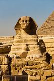 Sphinx Front Corner Pyramid Empty