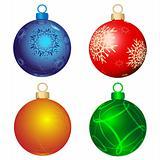 Four color balls