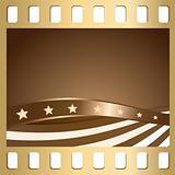 Slide and flag