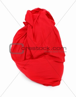 red sack of Santa Claus