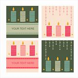 cute candles backgrounds