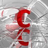 c in futuristic space