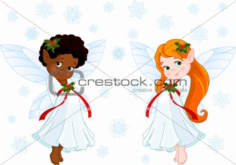 Little Christmas fairies
