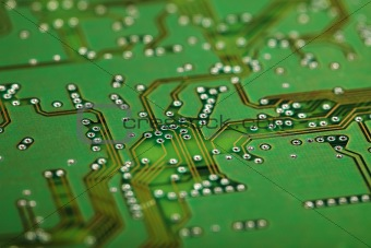 Circuit board - industrial background