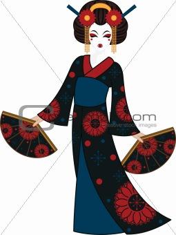 Floral Geisha