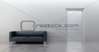 modern office 3d render