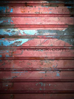 grunge color paint on metal wall