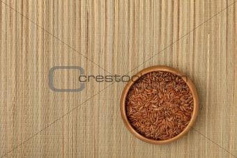 bowl of brown rice