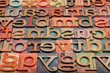letterpress alphabet 