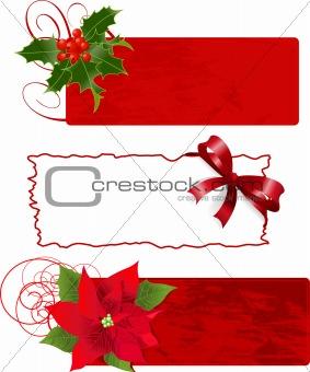 Christmas banners (frames)