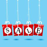 hanging sale icon