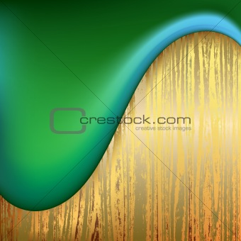 abstract background wooden plank and wave