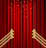 curtain and fanfare