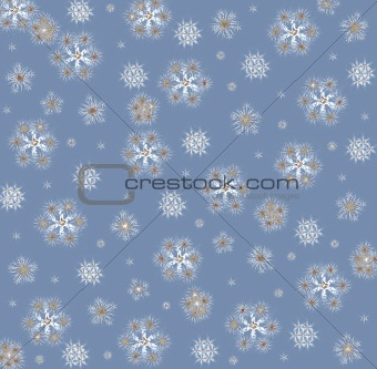 "Background ""Snowflakes"""