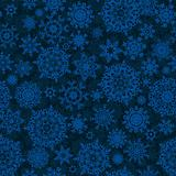 Seamless light blue christmas pattern. EPS 8