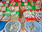 Fresh fish at a Turkish fish market