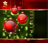 Christmas Elegant Background for Flyers or Posters