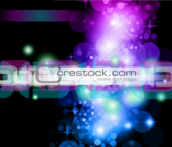 Abstract Background with Rainbow Gradient