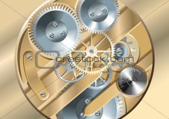Clockworks gears