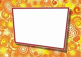 Decorative frame for photo