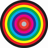 target, concentric circles of colors