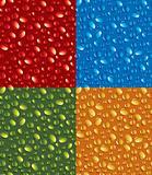 Color drops pattern