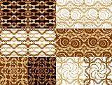 Vintage tiles set