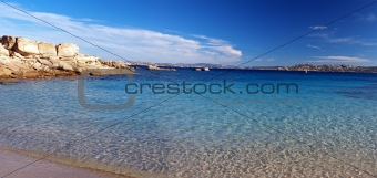 Coast of La Maddalena, Sardinia