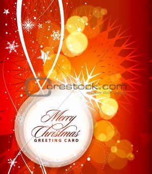 Christmas colorful design