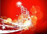 Christmas colorful design