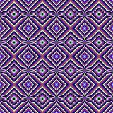 Ethnic decorative motifs in purple tones
