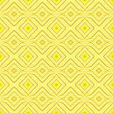 Ethnic decorative motifs in yellow tones