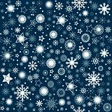 Snowflaks winter background