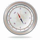 Retro compass.