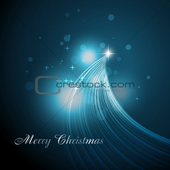 beautiful artistic christmas tree
