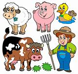 Farm cartoons collection