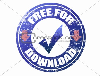 free for download stamp