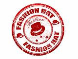 fashion hat stamp