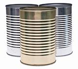 Trio of Tin Cans